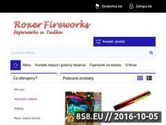 Miniaturka domeny roxerfireworks.pl