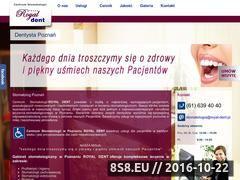 Miniaturka domeny royal-dent.pl