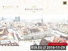 Miniaturka domeny www.royalhostel.pl