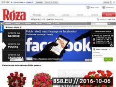 Miniaturka domeny www.roza-kwiaty.pl