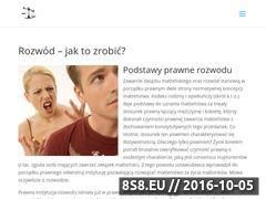 Miniaturka domeny rozwody-adwokat.com.pl
