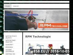 Miniaturka domeny rpm-technologie.pl