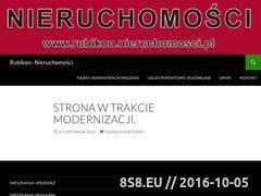 Miniaturka domeny rubikon.nieruchomosci.pl