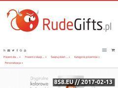 Miniaturka domeny www.rudegifts.pl