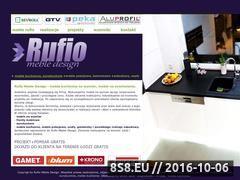 Miniaturka domeny www.rufio-meble.pl