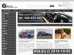 Miniaturka domeny www.rufus.pl