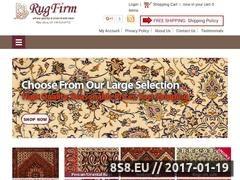Thumbnail of Authentic Persian and Oriental Rugs Website