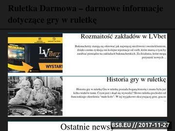 Zrzut strony Ruletkadarmowa.pl