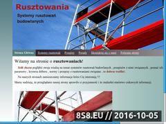 Miniaturka domeny www.rusztowaniaweb.pl