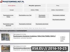 Miniaturka domeny rusztowanie.net.pl