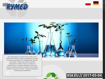 Zrzut strony RYMED S.C. - odpady niebezpieczne