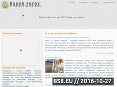 Miniaturka domeny www.rynek-forex.info.pl