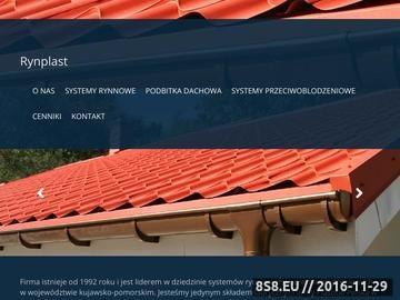 Zrzut strony RYNPLAST II S.C. systemy przeciwoblodzeniowe