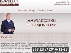 Miniaturka domeny www.rzecznikciupinski.pl
