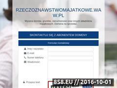 Miniaturka domeny www.rzeczoznawstwomajatkowe.waw.pl