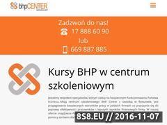 Miniaturka domeny www.rzeszow.bhp-center.com.pl