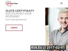 Miniaturka domeny www.rzetelnafirma.pl