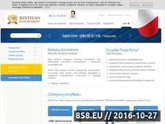 Miniaturka domeny www.rzetelny-kontrahent.pl
