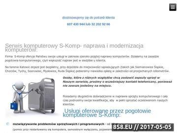 Zrzut strony Pogotowie komputerowe Katowice