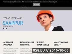 Miniaturka domeny www.saappur.pl