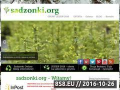 Miniaturka domeny www.sadzonki.org