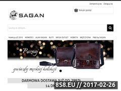 Miniaturka domeny www.sagan-esklep.pl