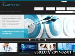 Miniaturka domeny www.sagittario.pl