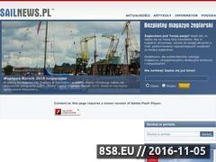 Miniaturka domeny www.sailnews.pl
