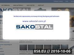 Miniaturka domeny www.sakostal.pl