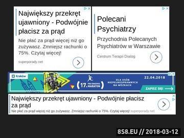 Zrzut strony Zobacz najlepsze sale zabaw w Polsce