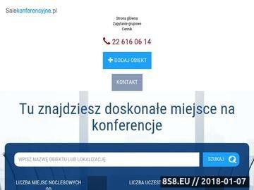 Zrzut strony Konferencje