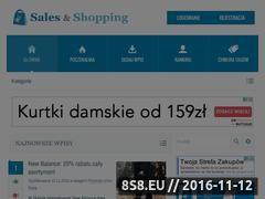 Miniaturka domeny salesandshopping.pl