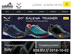 Miniaturka domeny salewa.sklep-luz.pl