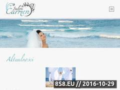 Miniaturka domeny www.saloncarmen.com.pl