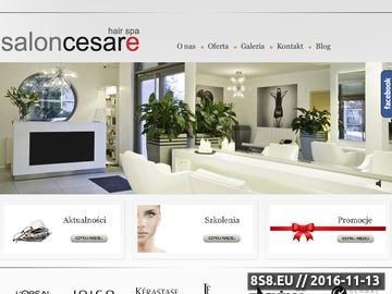 Zrzut strony Usługi fryzjerskie we Wrocławiu - naturalna pielęgnacja włosów