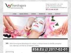 Miniaturka domeny www.salonmandragora.pl