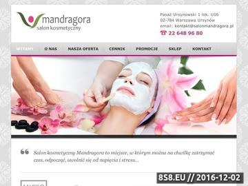 Zrzut strony Salon kosmetyczny Warszawa