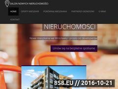 Miniaturka domeny salonnowychnieruchomosci.pl