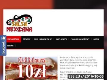 Zrzut strony Jedzenie meksykańskie, tex-mex, kebab i nuggetsy