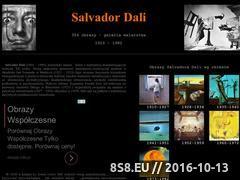 Miniaturka domeny salvador-dali.com.pl