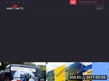 Zrzut strony Reklama Kraków SamArt