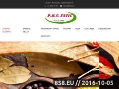 Miniaturka domeny www.sambal.com.pl