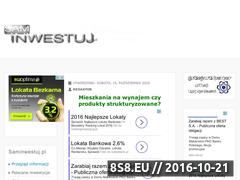 Miniaturka domeny www.saminwestuj.pl