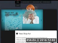 Miniaturka domeny samochodowyskup.pl