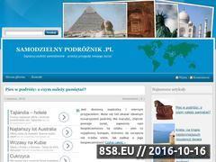 Miniaturka domeny samodzielnypodroznik.pl