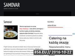 Miniaturka domeny samovar.pl