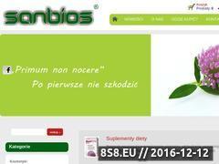 Miniaturka domeny www.sanbios.pl