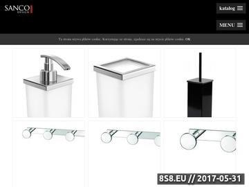 Zrzut strony Akcesoria łazienkowe