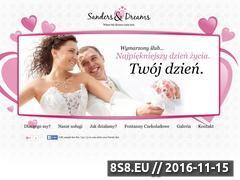 Miniaturka domeny www.sandersdreams.pl