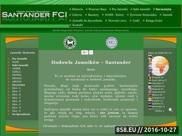 Zrzut strony Jamniki długowłose. Hodowla Santander FCI